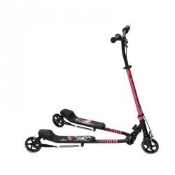 Trottinette 3 roues Slider Black / Pink 2015