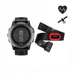 Montre GPS multisports  avec ceinture cardio Fenix 3 Performer grise