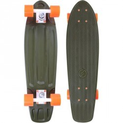 Cruiser Skateboard BIG YAMBA Kaki Orange