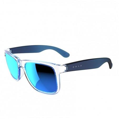 Lunettes de soleil de marche sportive WALKING 400 bleues & transparentes cat.3