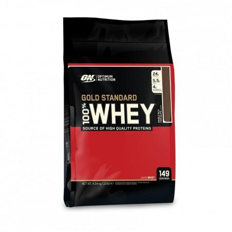 PROTEINE 100% WHEY GOLD STANDARD OPTIMUM NUTRITION chocolat 4.5kg