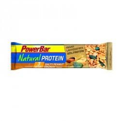 Barre protéinée végétale NATURAL PROTEIN cacahuètes caramel 40g