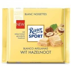 Chocolat blanc sport éclats de noisette 100g