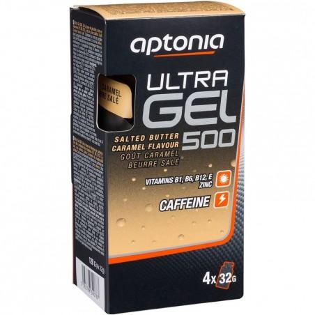 Gel énergétique ULTRA GEL 500 caramel beurre salé 4x32g