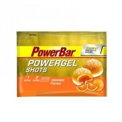 Gommes énergétiques POWERGEL SHOTS orange x9