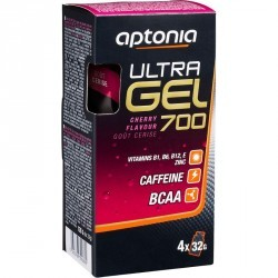 Gel énergétique ULTRA GEL 700 cerise 4x32g