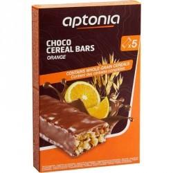 Barre de céréales enrobée Chocolat Orange 5x32g