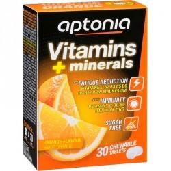 Complément alimentaire VITAMINES et MINERAUX orange 30 comprimés