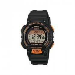 Montre sport STL S300H 1BEF grise et orange