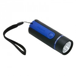 Lampe Torche ONbright 300 Rubber Blue - 30 lumens
