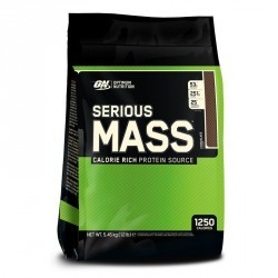 SERIOUS MASS OPTIMUM NUTRITION chocolat 5,4Kg