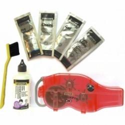 Kit complet Nettoyeur de chaine PEDROS Chain Pig Machine Kit