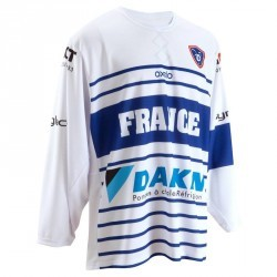 MAILLOT EQUIPE DE FRANCE HOCKEY SUR GLACE BLANC