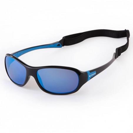 Lunettes de soleil randonnée enfant 7-10 ans TEEN 500 bleues polarisantes CAT3