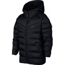 Loisirs garçon NIKE B Nsw Jacket Filled Noir