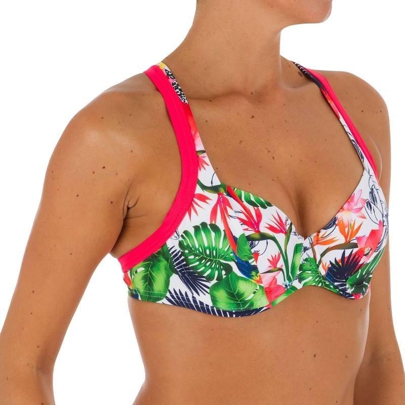 Haut de maillot de bain femme corbeille Minimizer EDEN AMAZONIA avec armatures