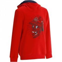Sweat Shirt Skate junior MID red skull