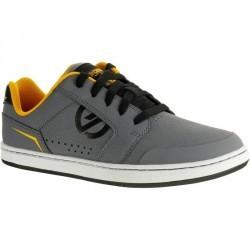 Chaussure de skate enfant CRUSH RUBBER grise jaune