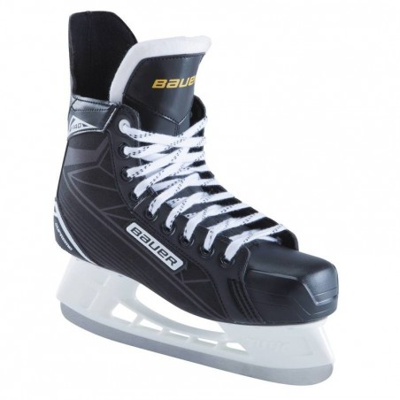 Patin de hockey sur glace adulte SUPREME 140 noir