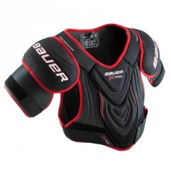 EPAULIERES VAPOR X700 noir rouge