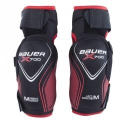 Coudières de hockey VAPOR X700 JUNIOR noir rouge