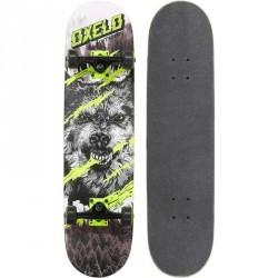 Skateboard SKATE MID 5 WOLF VERT