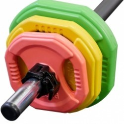 Pack rack 20 kits pump 20kg couleur Leader Fit