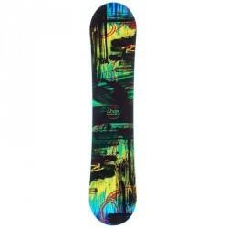 Snowboard junior Scan noir bleu et vert