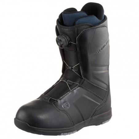 Chaussures de snowboard all mountain homme Aero boa coiler noires