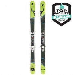 SKIS FREERIDE FREESTYLE ADULTE REGULATOR VERT