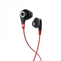Ecouteurs sports filaires avec micro ONear 300 Noir Rouge