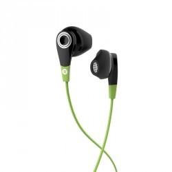 Ecouteurs sports filaires avec micro ONear 300  Noir Vert