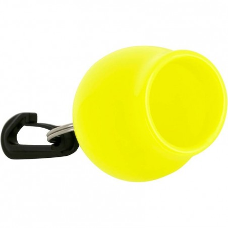 Protège embout octopus Rond Jaune fluo