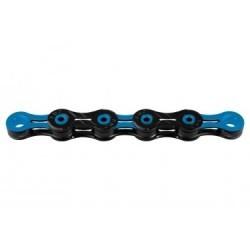 Chaine KMC DLC10 116 maillons 10V Noir/Bleu