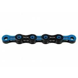 Chaine KMC DLC11 118 Maillons 11V Noir/Bleu