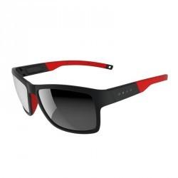 Lunettes de soleil de marche sportive WALKING 700 noires & rouges catégorie 3