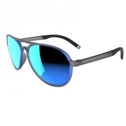Lunettes de soleil de marche sportive WALKING 500 bleues polarisantes catégorie3