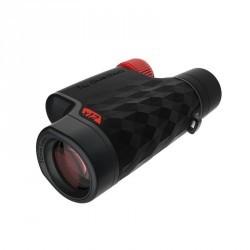 Monoculaire randonnée adulte avec réglage M900 grossissement x12 noir et rouge