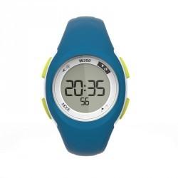 Montre digitale sport femme et junior W200 S timer BLEU VERT