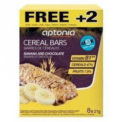 Barre de céréales Clak chocolat banane 6x21g + 2 GRATUITES