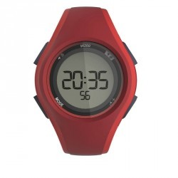 Montre digitale sport homme W200 M timer ROUGE