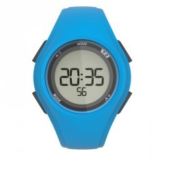 Montre digitale sport homme W200 M timer bleue