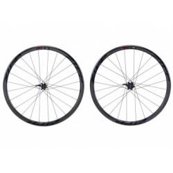 Paire de roues Route ZIPP 202 Carbon Clincher Disc Black