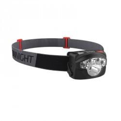Lampe frontale Randonnée ONNIGHT 300 Noire - 130 lumens
