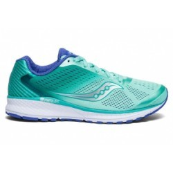 Chaussures de Running Femme Saucony Breakthru 4 Bleu / Violet