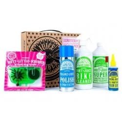 Pack de produits d´entretien + Nettoyeur de Chaine Juice Lubes Pack Scrub´n Buff