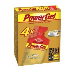 Gel énergétique POWER GEL fruits rouges 4x41g