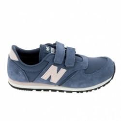 Basket mode, Sneaker NEW BALANCE KE420 C Bleu Clair