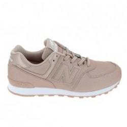 Basket mode, Sneaker NEW BALANCE GC574 Jr Rose Brillant