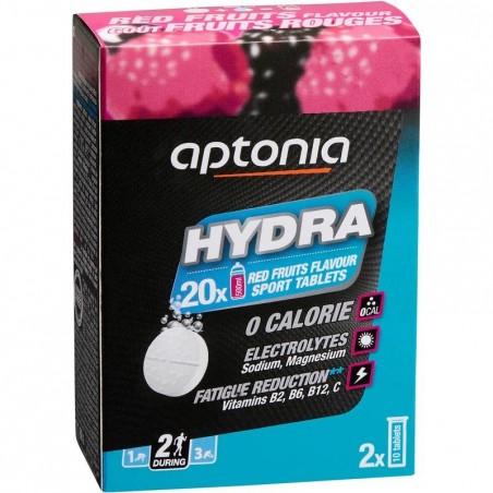 Boisson électrolytes tablette HYDRA TABS fruits rouges 20x4g